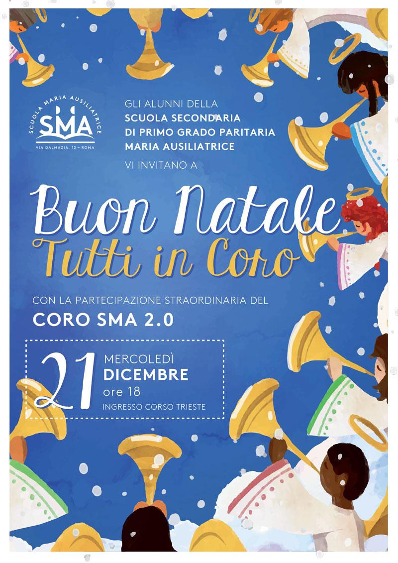 Buon Natale Tutti.Buon Natale Tutti In Coro Scuola Maria Ausiliatrice Roma