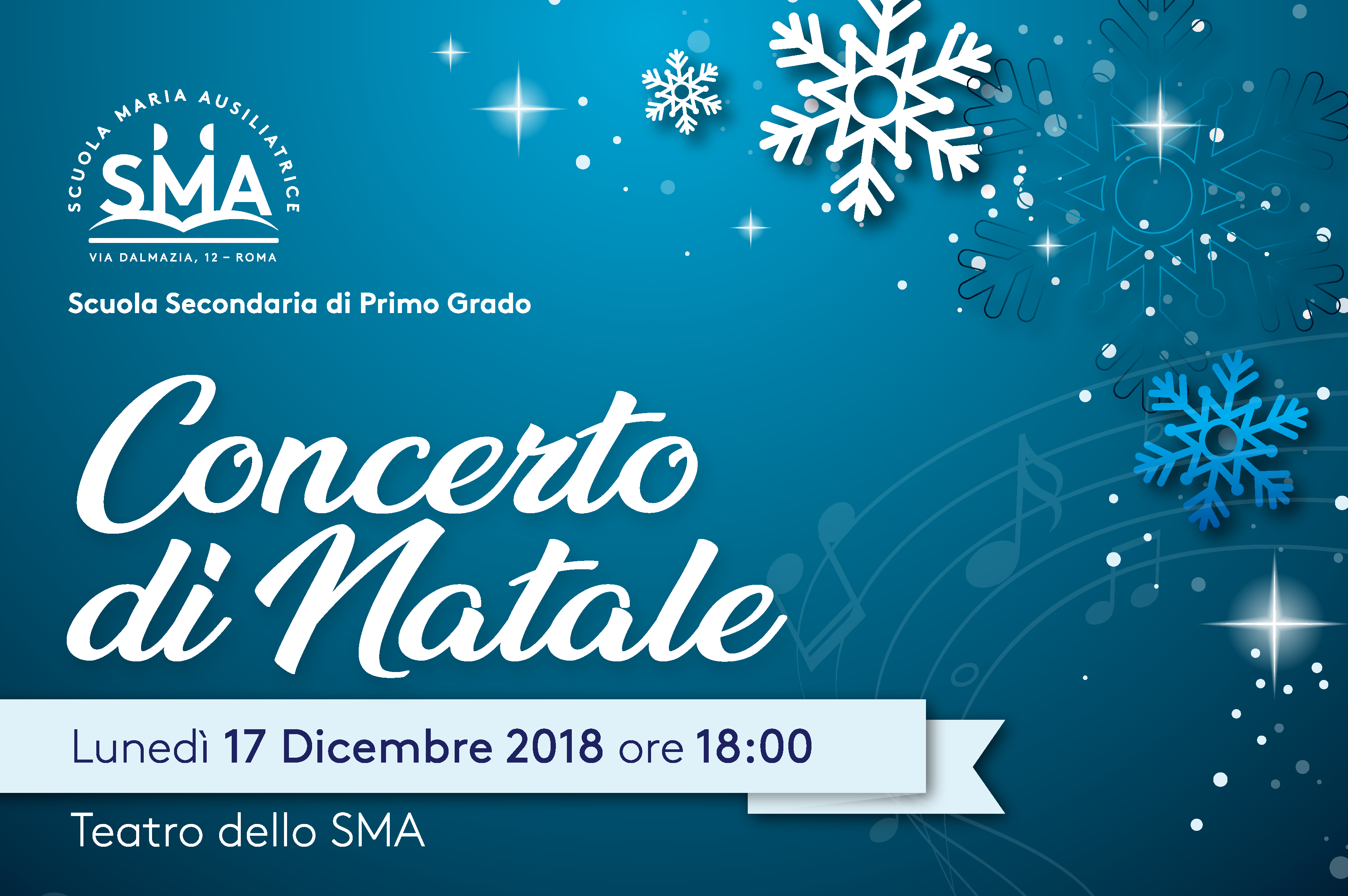 Concerto Di Natale.Concerto Di Natale 2018 Scuola Maria Ausiliatrice Roma